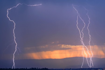 A lightning strike has killed five people, including four school children in western Tanzania. Photo: Daniel Hayduk