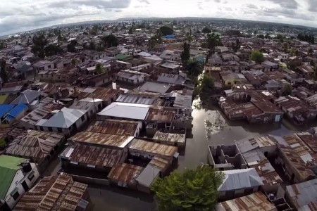 When it rains in Dar, everyone is impacted. A community mapping project is using data to promote flood resilience. Photo: Mark Iliffe cc-by sa 4.0