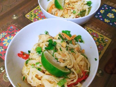 Fast, easy and forgiving Pad Thai.