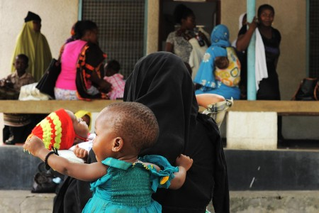 Maternal health in rural Tanzania in 2013. Photo by Daniel Hayduk