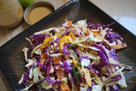 This creamy 'cold slaw'