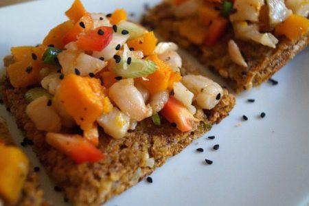 Buckwheat flatbread