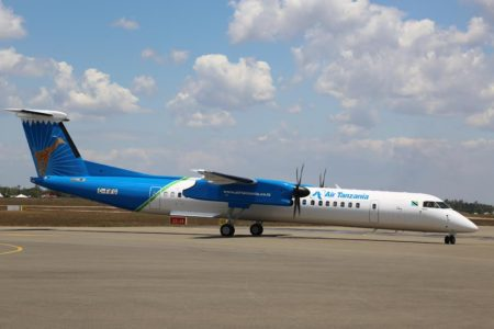 Two new aircraft have been ordered for Air Tanzania, one of which arrived today, September 20. Photo: State House