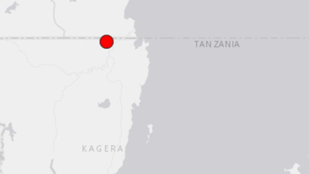 A moderate earthquake struck Kagera region on Saturday, September 10.