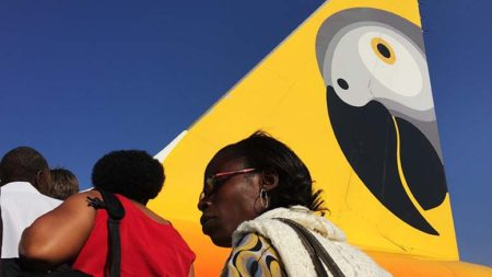 Fastjet customers have been facing delays and cancellations, as the airline reduces its fleet. Photo: Daniel Hayduk