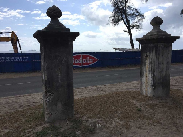 Old cemetery gates
