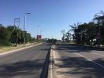 Empty Ali Hassan Mwinyi Road